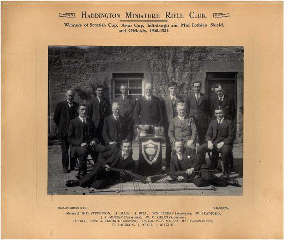 Haddington club 1930-31